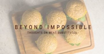 Meat Substitutes - Burgers