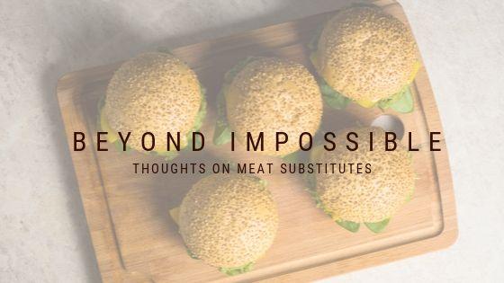 Meat Substitutes - Burgers